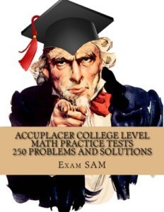 Accuplacer College Level Math Practice by Exam SAM